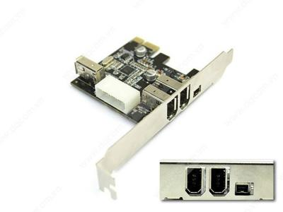 Card PCI -> E - 1394A - 3N Unitek