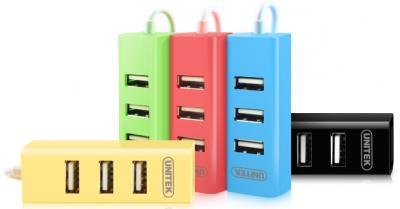 Hub USB 2.0 4 Ports Unitek (Y - 2140)