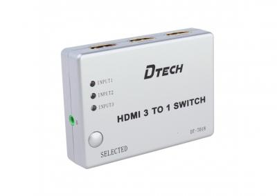 SWITCH HDMI 3 - 1 DTECH (DT - 7018)