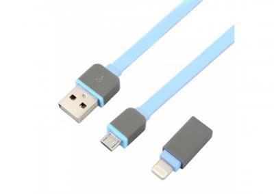 Cáp Dẹp USB 2.0 -> Iphone 5 + Micro USB Unitek (Y - 440APK)