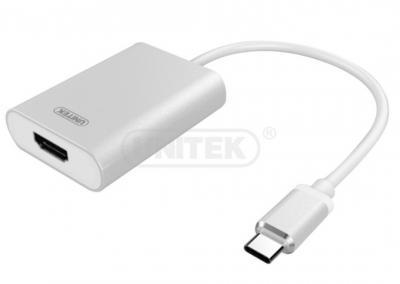 Cáp Type-C -> HDMI (L) Unitek (Y - 6309)