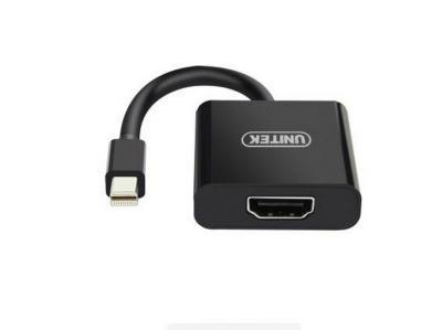 Cáp Mini Displayport -> HDMI Unitek (Y - 6325BK)